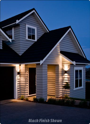 outdoor wall lighting nz ways to create instant street appeal
