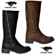 Image result for Rocket Dog Tanker Knee High Biker Boot