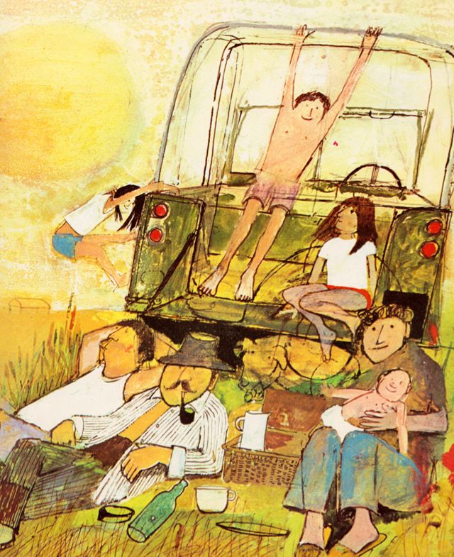 my vintage book collection (in blog form).: Seasons - illustrated by John Burningham