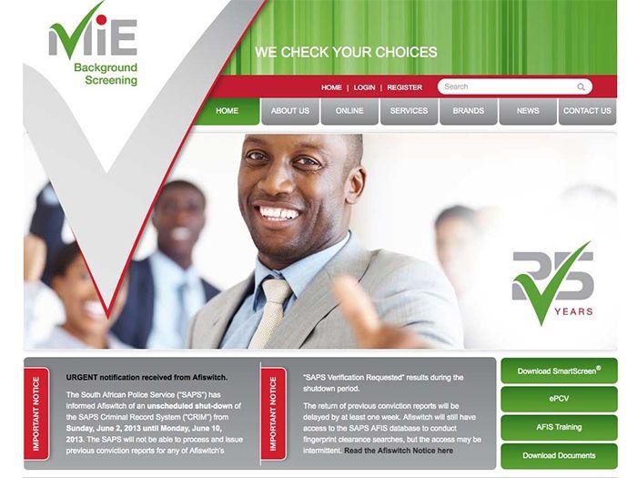 MIE Website