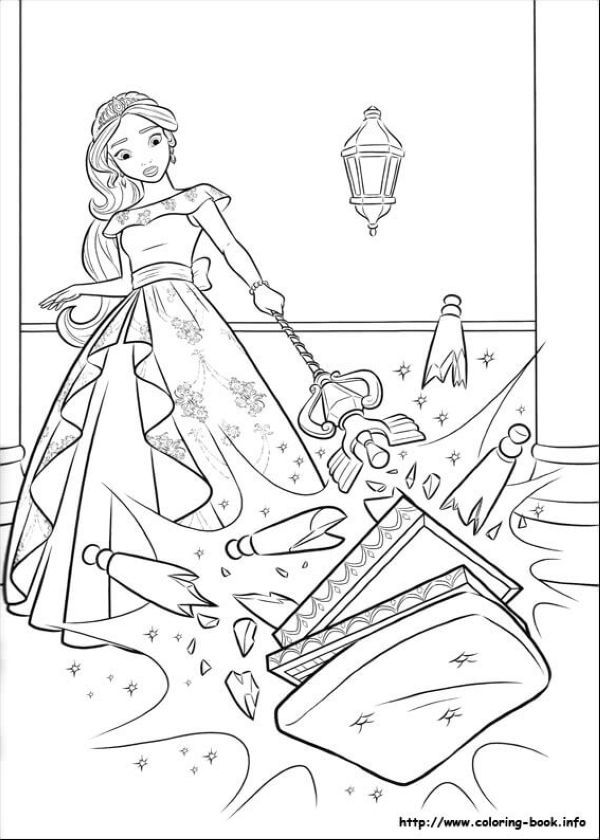Angry Elena Elena Of Avalor Coloring Page Cartoon Coloring Pages Precious Moments Coloring Pages Coloring Pages