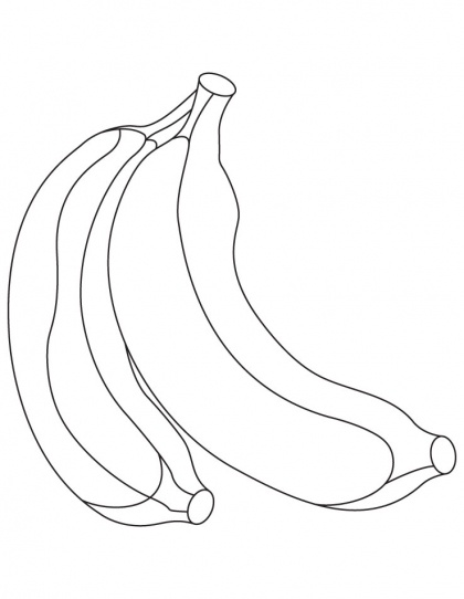 7 best Banana Coloring Pages images on Pinterest Coloring pages