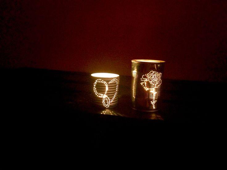 Lanterne di latta