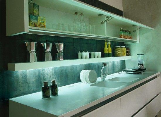 iluminacion interior cocinas