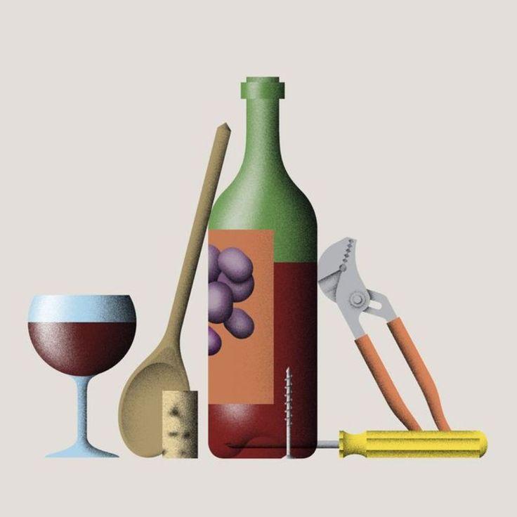 Die Wundertüte: Eine Weinflasche öffnen – ohne Korkenzieher