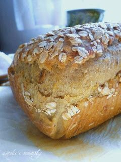 Chleb na drożdżach z ziarnami, ziemniakami i miodem