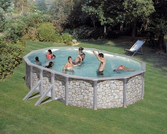 best 167 piscine hors sol ideas on pinterest small pools small swimming pools and swimming pools. Black Bedroom Furniture Sets. Home Design Ideas