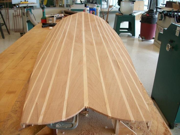 Paulownia Wood Surfboard