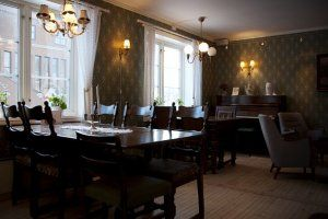 Cozy café with passion for organic food. Here you will find dishes which is made from local food producers.