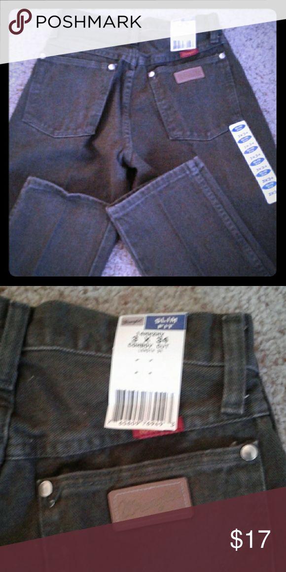NWT Wrangler cowboy cut jeans Inseam 34 Wrangler Jeans Straight Leg