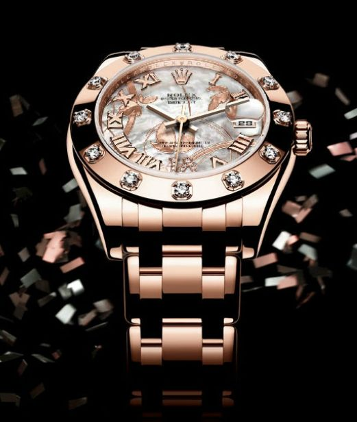 Rolex Date Just Special Edition. Women Collection.   YES PLEASE!!!!