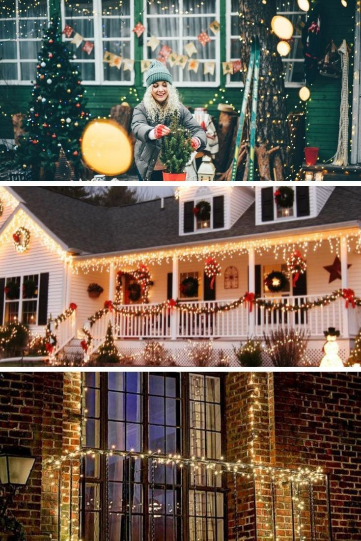 16 Ways To Decorate Your Front Porch This Christmas In 2020 Christmas Porch Decor Porch Decorating Front Porch Decorating