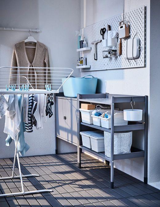 les 25 meilleures id es de la cat gorie stockage de panneau perfor sur pinterest tableau. Black Bedroom Furniture Sets. Home Design Ideas