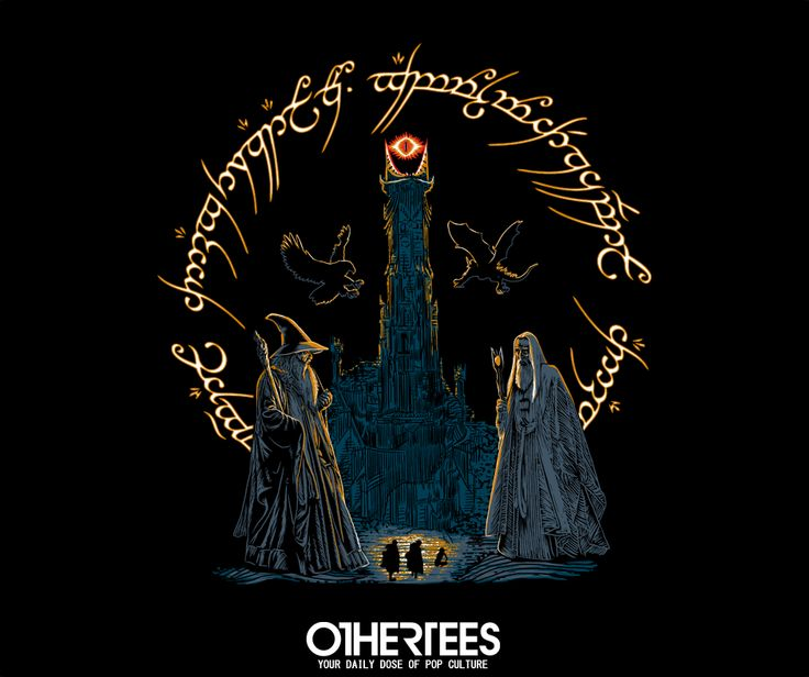 """""""Journey Through Middle Earth"""" by ddjvigo T-shirts, Tank Tops, V-necks, Sweatshirts and Hoodies are on sale until November 17th at www.OtherTees.com #tshirt #othertees #clothing #popculture  #middleearth #lotr #books #movies #lordoftherings #hobbit #tolkien #gandalf #sauron #saruman"""
