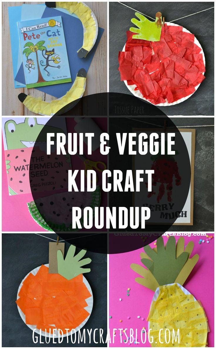 Fruit & Veggie Kid Craft Roundup