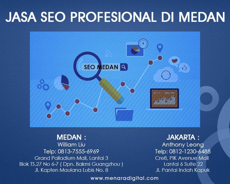 Layanan dari para ahli SEO (Search Engine Optimization) di Medan dan Jakarta untuk mengoptimasi berbagai situs bisnis, dikerjakan dengan mantep oleh Master SEO Indonesia Charlie M. Sianipar.