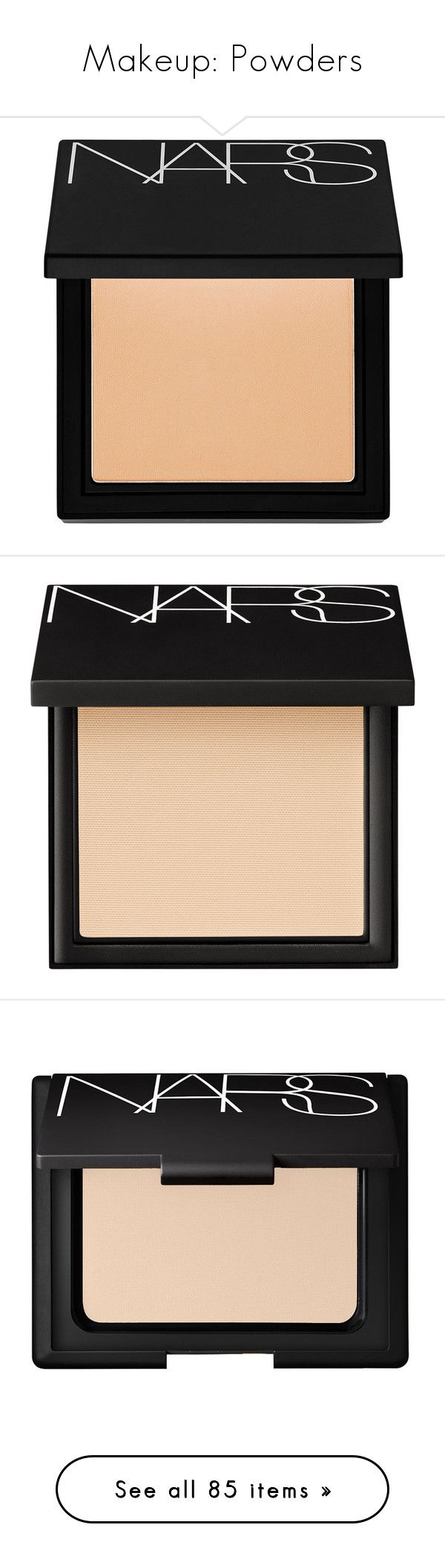 """""""Makeup: Powders"""" by katiasitems on Polyvore featuring beauty products, makeup, face makeup, foundation, beauty, fillers, make, 34. foundation & blush., paraben-free foundation and oil free paraben free foundation"""