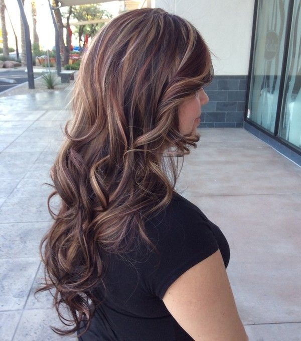 Hair Color Ideas For Brunettes With Highlights Hairstye