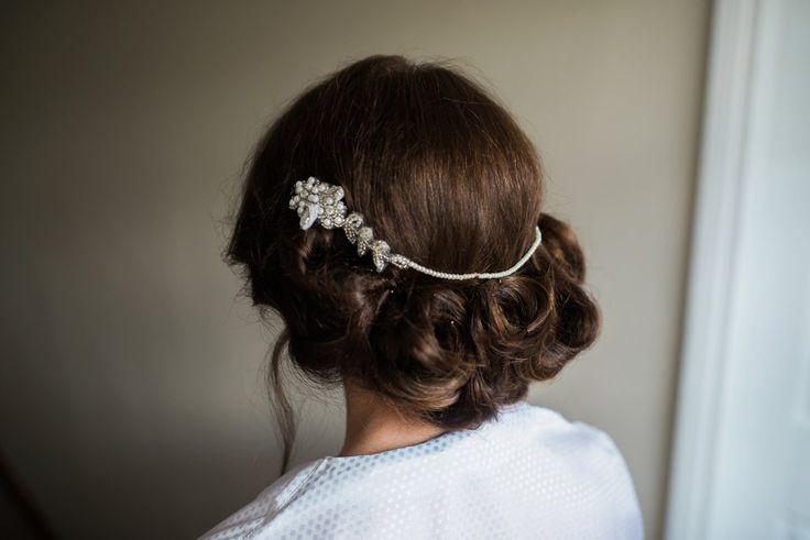 Wedding Hairstyle | Vintage Wedding | Farnham Estate » Kathy Silke Photography