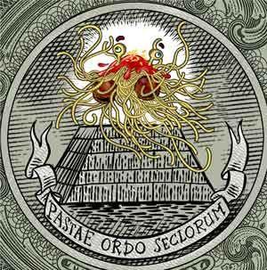 Pastafarisme... L'Église du monstre en spaghetti volant