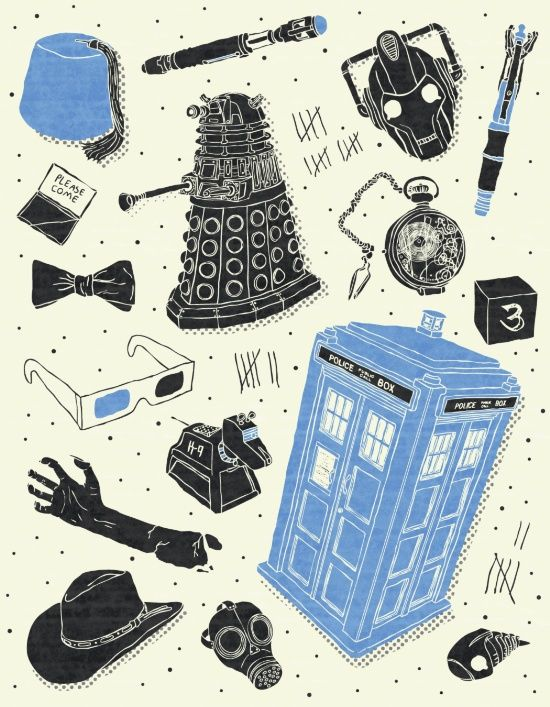 Artifacts: Doctor Who Art Print