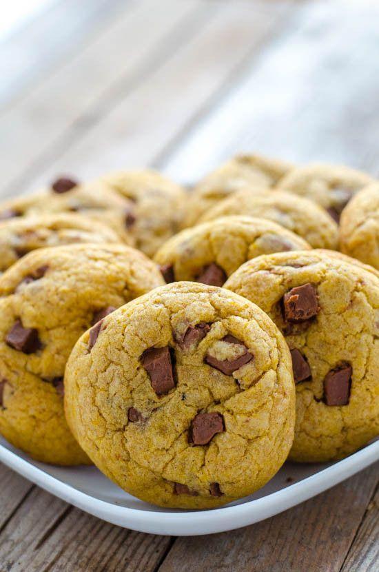 dýňové cookies - péct aspoň 15 minut