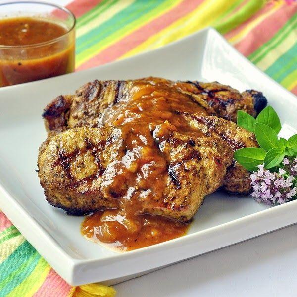 plum chutney rock recipes white meat food photo chutneys pork chops ...