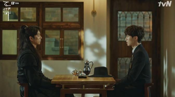 Momen Lucu Gong Yoo dan Lee Dong Wook di Goblin Episode 14 - http://wp.me/p70qx9-7Fa