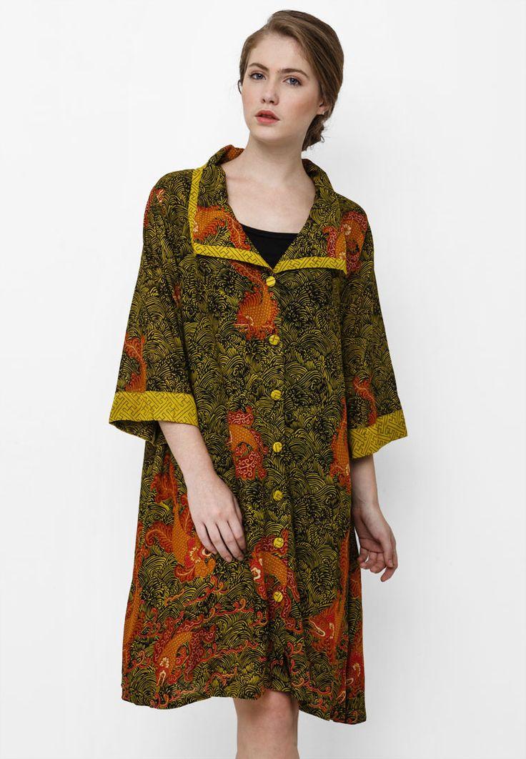 Dress Batik Sisik Ikan by Danar Hadi AG1832