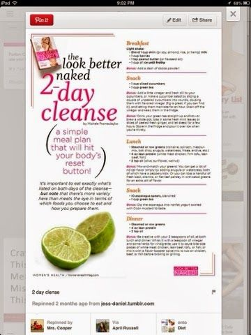 2 day Weightloss cleanse