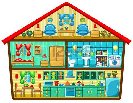 House in cut