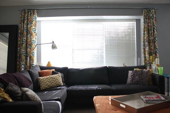 Make A Homemade Curtain Rod For Under $10 using plumbing conduit
