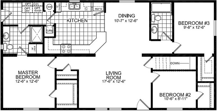 25 best floor plans images on pinterest laundry room for Laundry room floor plan example
