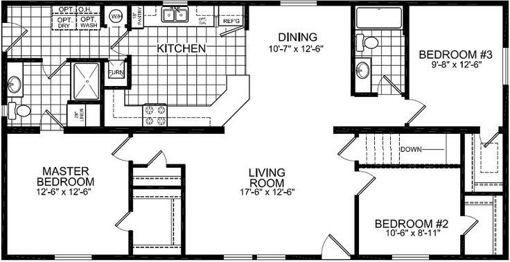 328 1 387 Sq Ft Bedrooms 3 Bathrooms 2 C Kitchen