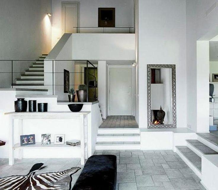 interior de casas a desnivel buscar con google