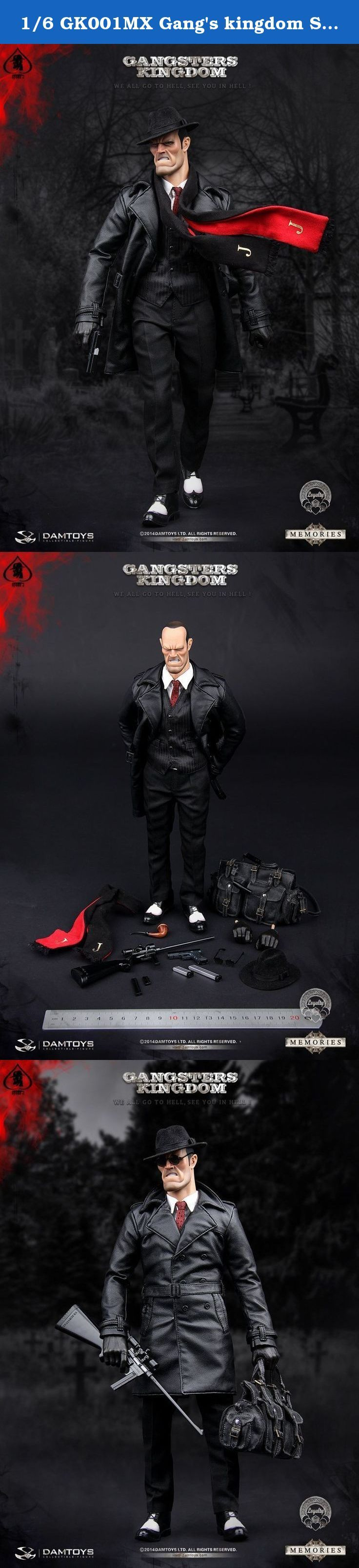 1/6 GK001MX Gang's kingdom Spade J Memories Ver.New. Features: 1.Headsculp 2.Action bady 3.Black hat 4.White shirt 5.A red tie 6.Black vest 7.Black leather trench coat 8.Black trousers 9.Black socks 10.Black and white shoes(1) PAIR 11.Glove Palm(1) PAIR 12.AR-7 Explorer 13.AR-7 8round mag 14.AR-7 15round mag 15.G17 pistol 16.G17 17round mag 17.G17 19round mag 18.G17 31round mag 19.Black round sunglasses 20.pipe 21.long scarf 22.Large black leather bag.