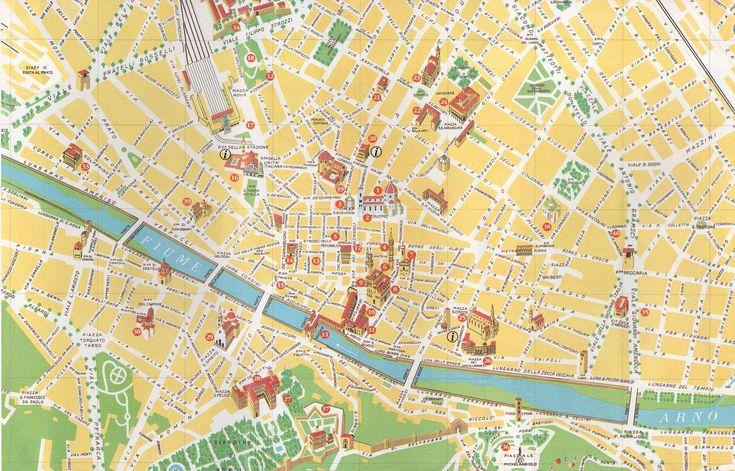 Mapa Monumentos Florenca