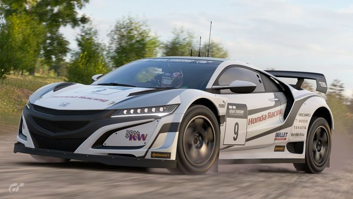 2017 Honda NSX Gr.B Rally Car [NC1]