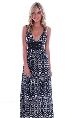 Rita Black Cutout Maxi Dress $69.95  www.littlepartydress.com.au
