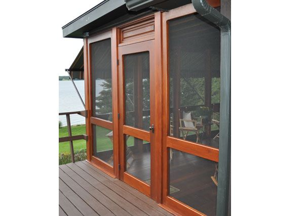 Traditional Porch Enclosure Systems Handcrafted From Solid Wood Yesteryear S Vintage Doors Traditional Porch Screen Porch Panels Porch Enclosures