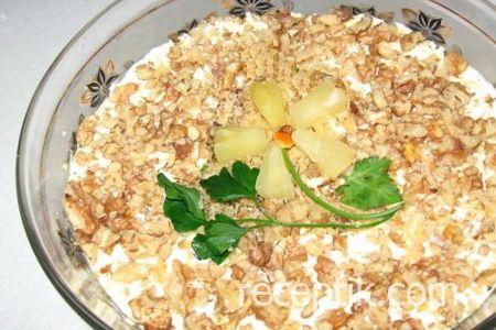 Приготовление салатов из яиц