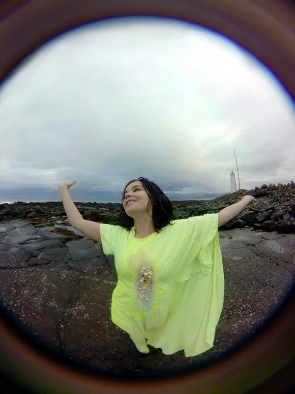 """Björk is about to launch a virtual reality music video   """"We found ourselves in Iceland one day with nothing to do and a 360 camera lying about"""""""