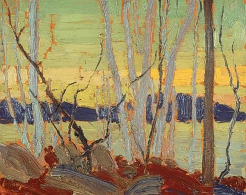 Tom Thomson. Reminds me of Skyrim....