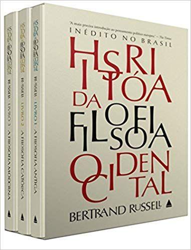 e2f5c09fd História da Filosofia Ocidental - Caixa - 9788520923290 - Livros na Amazon  Brasil