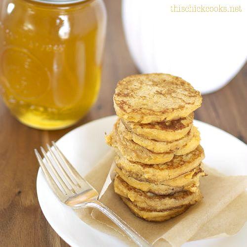 Flourless Sweet Potato Pancakes