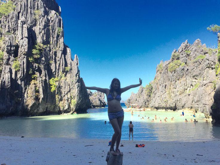 Hidden Beach, Matinloc Island, El Nido, Palawan
