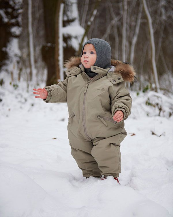 VER de TERRE   Baby and childrens's wintersuit w/fur 1-8 yrs   AW13