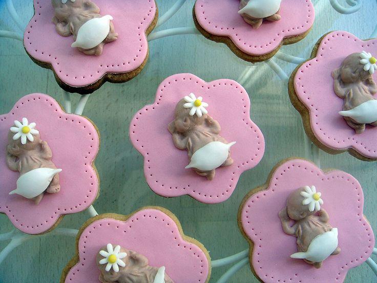 Kız Bebek Kurabiyeleri.! Şeker hamuru Baby Shower Kurabiyeleri.! Baby Girl Baby Shower Cookies.!