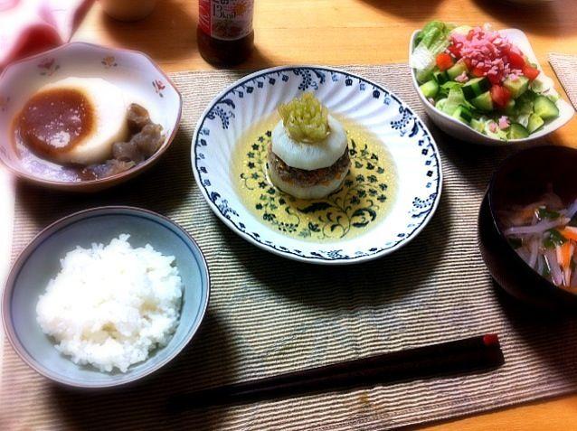 ふろふき大根、サラダ、もやしとしめじの中華スープ - 3件のもぐもぐ - かぶの洋風煮込み by hamarika