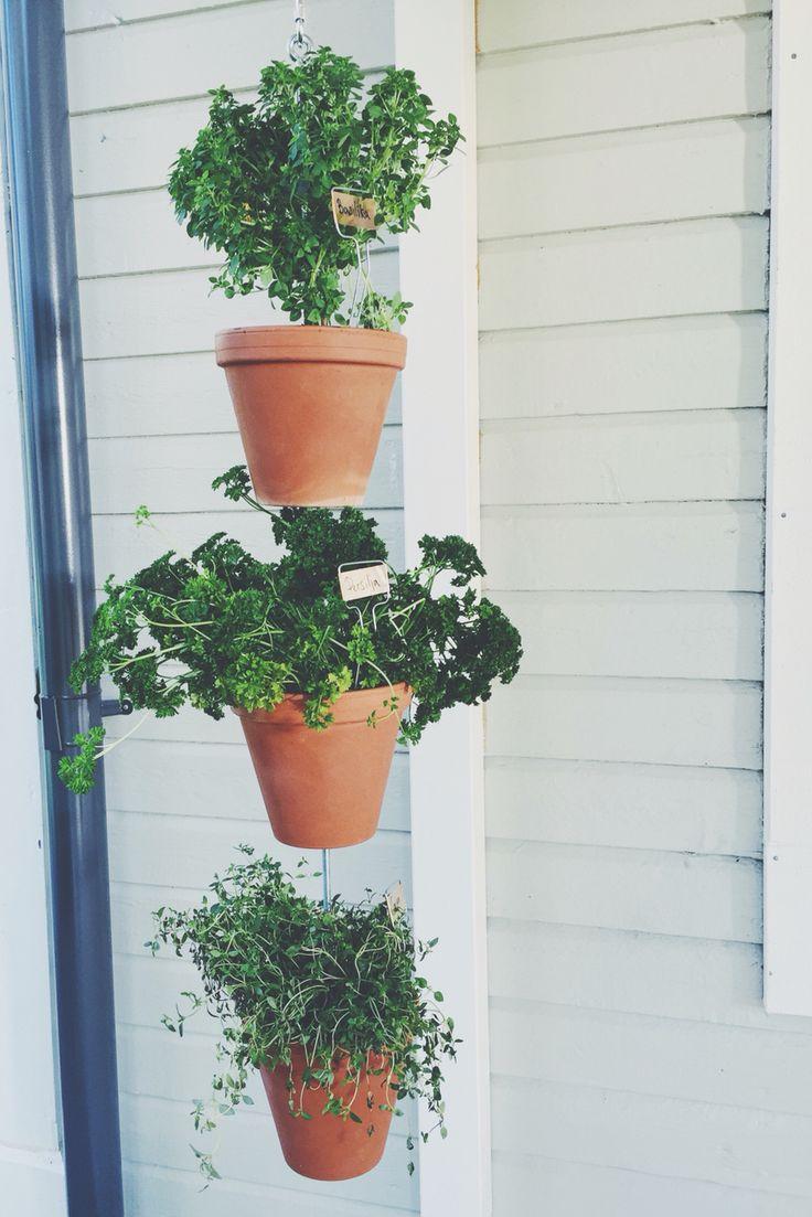 Få till en rejäl odling på balkongen utan att ta upp någon golvyta alls. Gör en odlingspelare, se hela steg-för-steg filmen om hur du gör på tv4play.se Äntligen Hemma.